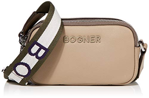Bogner Ladis Avy Xshz - Borsa a tracolla da donna, 5 x 10 x 18 cm, Beige (Beige (Taupe)), 5x10x18 cm (B x H x T)