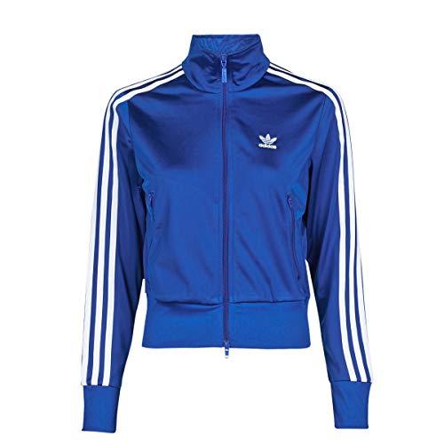 adidas Firebird TT, Felpa Donna, Team Royal Blue/White, 42