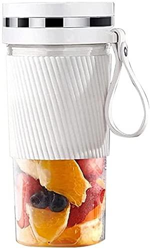 AKwwmy Mini Blender Portable Juicer Machine USB Blender Maker Mixer para el procesador de Alimentos personales Fruit Extractor Gym Travel Partner Mengheyuan