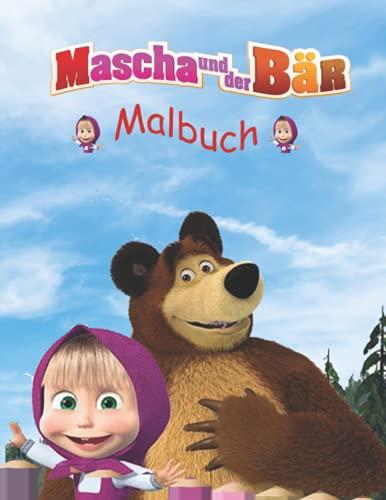 mascha und der bär MALBUCH