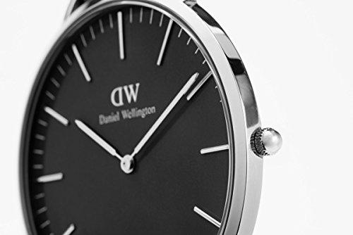 Daniel Wellington Mixte Analogique Quartz Montre avec Bracelet en Cuir DW00100133