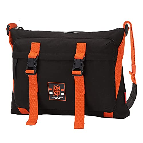 OIWAS Small Bike Messenger Bag for Men Cycling Canvas Travel Purse Sport Crossbody Shoulder Bag Mini Work Bag Lightweight Casual Daypack