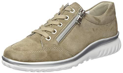 Semler Damen Lena Sneaker, Beige (Panna 028), 40 EU