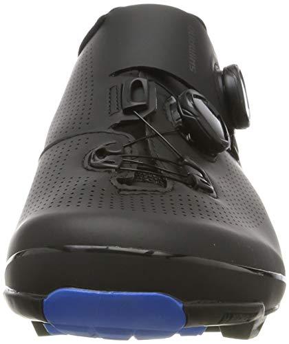 Shimano SH M MTB XC7 N.45, Zapatillas de Ciclismo de Carretera Hombre, Negro (Negro 000), 45 EU