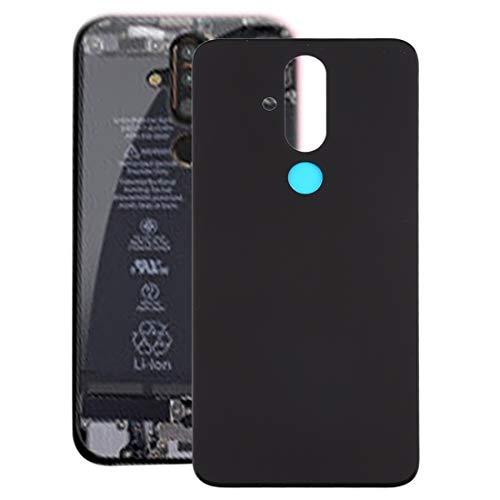 Beilaishi Copertura Posteriore della Batteria for Nokia X71 (Nero) Guscio Posteriore Corrispondenza (Color : Black)