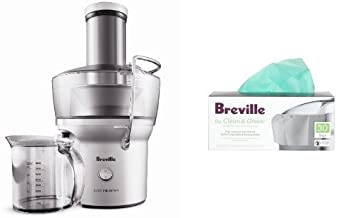 Breville BJE200XL Compact Juicer and Biodegradable Juicer Bags