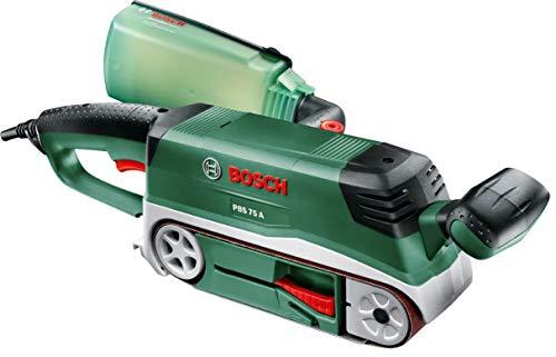 Bosch Bandschleifer PBS 75 A, 1 Schleifband K 80 (710 W, Schleiffläche 76 x 165 mm, Bandabmessung 75 x 533 mm)