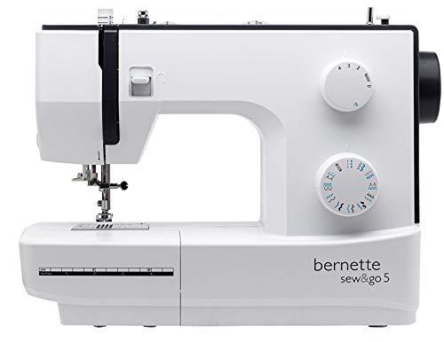 Bernette Sew & Go 5-60 Stitch Functions - 23 Stitch Designs Home Sewing Machine : Swiss Design by BERNINA Switzerland