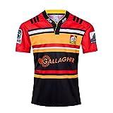 YHANS 2019-2020 Maillot De Rugby Emirates Nouvelle-Zélande Respirant Séchage Rapide Maillot De Football Summer Sports Loisirs T-Shirts(S-3XL),L