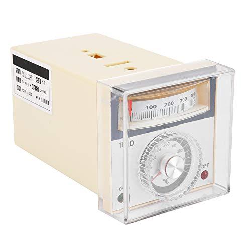 Controlador de temperatura de puntero, controlador de temperatura de puntero tipo K, horno de invernadero estable de desgaste intuitivo para máquina de moldeo de empaquetado