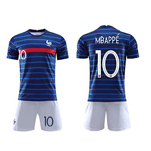 T-Football uniform kan herhaaldelijk worden gereinigd trainingspak 19-20 Frankrijk nr. 10 Menfootball uniform Frankrijk nr. 7 T-shirt shirt shirt