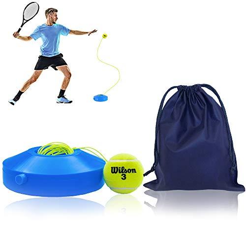 All-Ant Tennis-Trainer Set mit Wilson Tennisball | innovatives Ballspiel für Draußen, im Garten, im Park für Kinder & Erwachsene | inkl. Transporttasche & Übungsvideos
