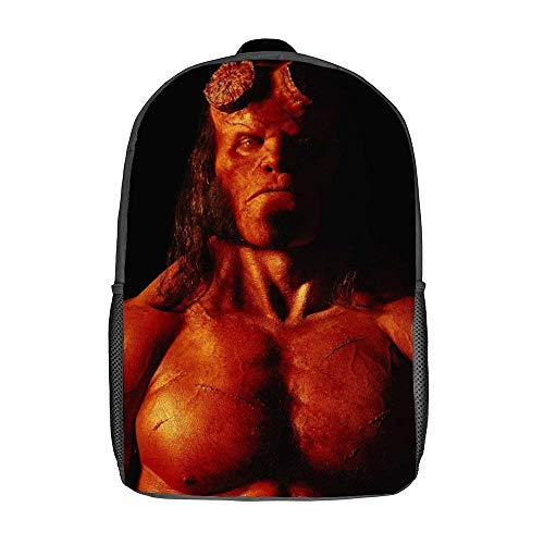Hellboy Shoulder Handbags Dzc Bag 17inch Backpack 15-Inch Laptop & Tablet Fashion Travel Backpack