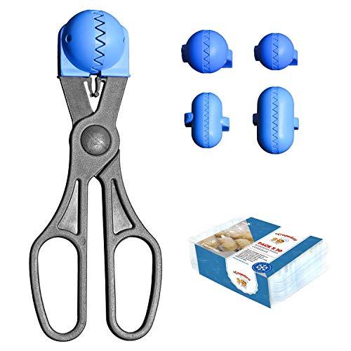 La Croquetera Pack- Utensilio Multiusos Color Azul - 4 moldes ...