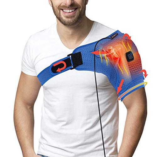 Doact Schulterbandage, Unterstützung Wrap Gürtel Schulter Unterstützung, USB elektrische Schulter Heizkissen...