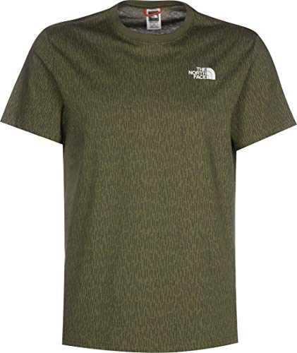 THE NORTH FACE Tee Shirt 2tx2 Red Box m1a burntolive H S