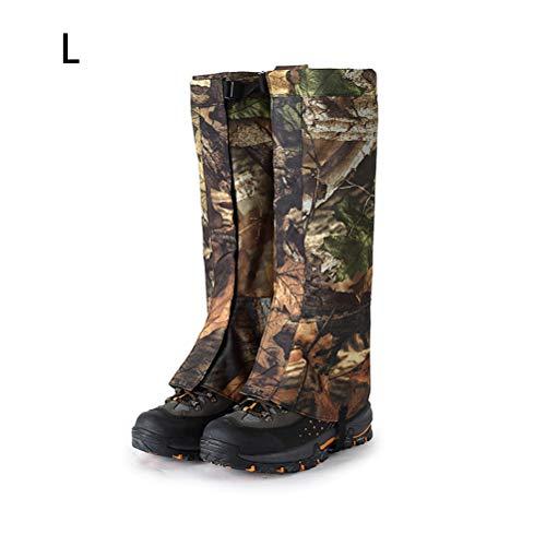 Camping wandelen camouflage schoenen jungle door droge, waterdichte sportlegging krasbestendige insectensteek verstelbare leggings