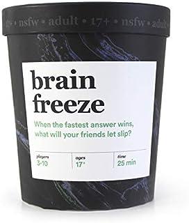 بازی کارت بزرگسالان Brain Freeze: بازی Speak-Before-You-Think Party - نسخه NSFW