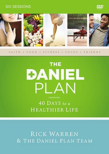 The Daniel Plan Video Study: 40 Healthier Classic a Life to Days Bargain sale