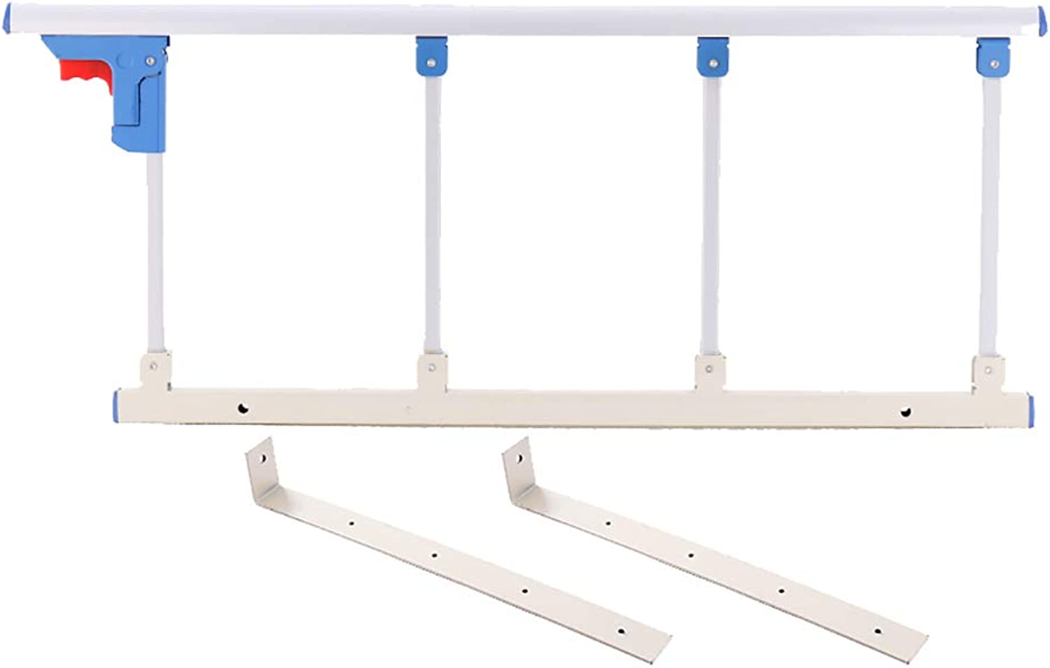 Folding Bed Rail Safety Assist Handle Bed Railing Guard Grab Bar Bumper for Elderly, Adults, Toddler (Size   94×40cm)