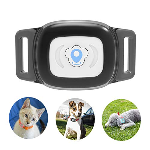 BARTUN GPS Pet Tracker, Cat Dog Tracking Device with Unlimited Range...