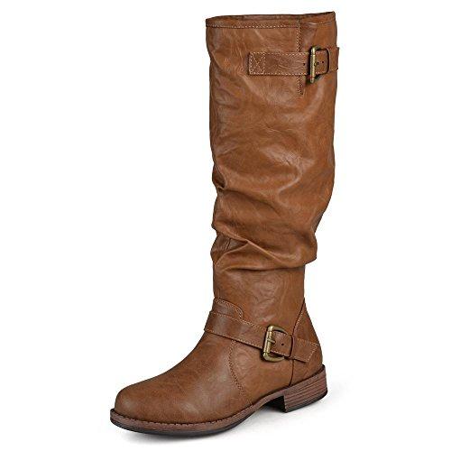 Brinley Co. Womens Regular and Wide-Calf Knee-High...