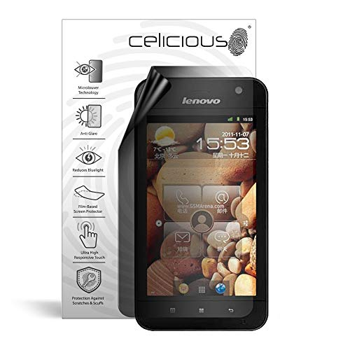 Celicious Privacy Lite 2-Way Anti-Glare Anti-Spy Filter Screen Protector Film Compatible with Lenovo LePad S2005