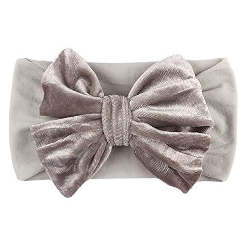 Winter Baby Hat Stirnband Weiche elastische Baumwolle Baby Girl Hut Einfarbige Kinder...