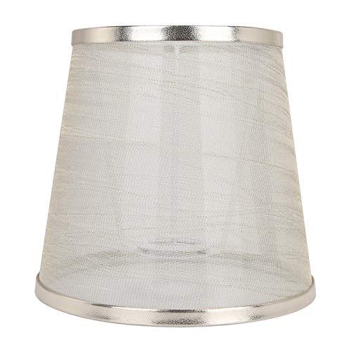 Luz accesorio tela pantalla lámpara sombra hogar para lámpara de pared (translúcido)