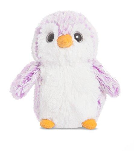 Aurora World 73889 - knuffeldier - pompom pinguin, 6 inch / 15 cm, paars