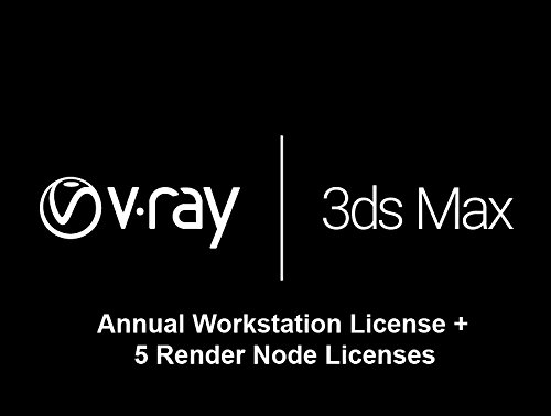 V-Ray Next for 3ds Max - Annual Workstation license + 5 Render Node...