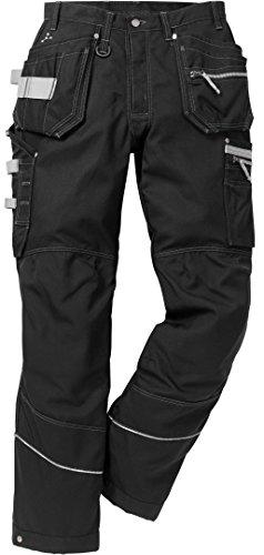 Fristads Kansas Workwear 110317 Handwerkshose Gr. 50, Schwarz