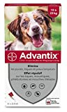 Advantix Spot-on per Cani dai 10Kg ai 25Kg - 4 pipette da 2.5ml...