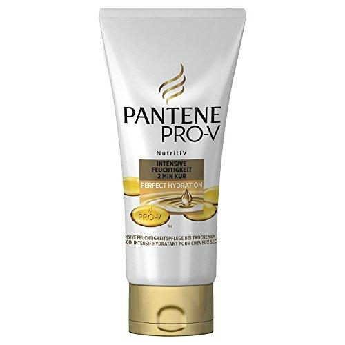 Cure réparatrice en 2 minutes de type Pantene Pro-V - parfaite hydratation et humidité intensive, 200 ml