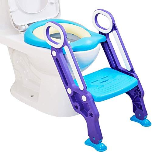 Pot Bébé Toilette Toilette D'entraînement Pot De Siège Siège Avec Escabeau Enfants Pliant Siège Enfant Échelle Pot Garçon Toilette Bébé