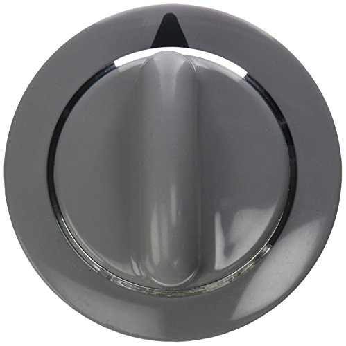 Lifetime Appliance WE1M964 Timer Knob with Metal Ring Compatible with General Electric Dryer