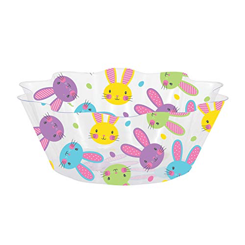Easter Bunnies Fluted Bowls, 3 ct