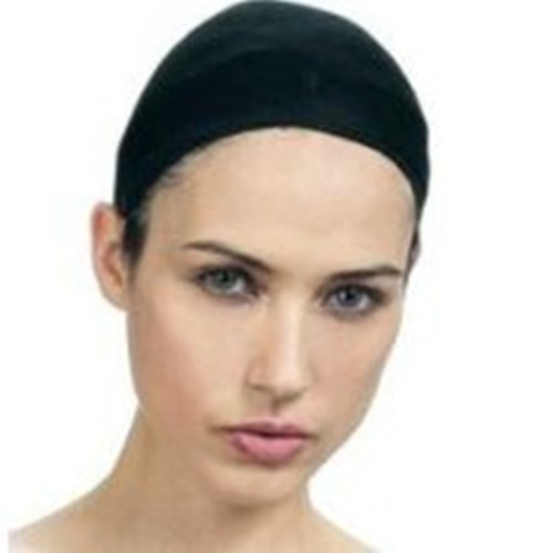 Qfitt Wig Cap In Sheer Black. 2pcs