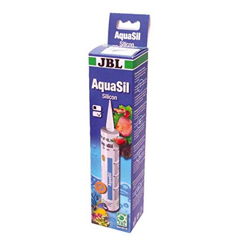 JBL AquaSil transparent 6139400 Spezialsilikon für Aquarien und Terrarien, 310 ml