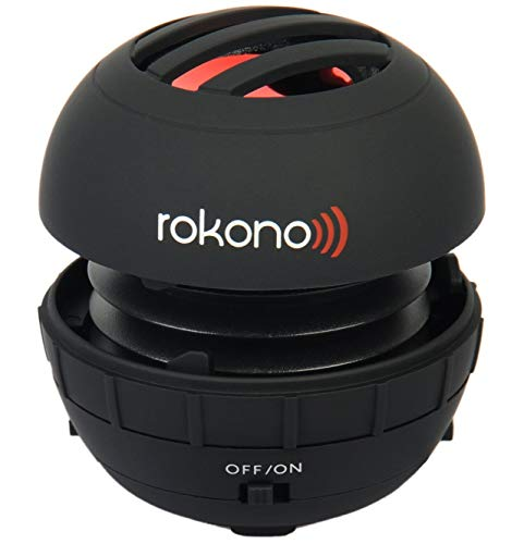 Rokono BASS+ Mini Speaker for iPhone / iPad / iPod / MP3 Player / Laptop - Black