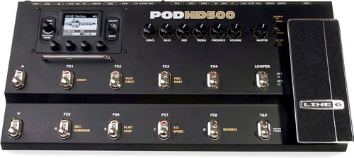 Line 6 Pod-Hd 500 Multi-Effects Floorboard Unit - POD-HD-500 (japan import)