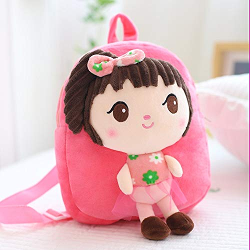 zhangmeiren Cartoon Mini Small Backpack Schoolbag Bag Boy 1-3 Years Old Children Cute Little Girl Backpack Shoulder Bag (Color : F)