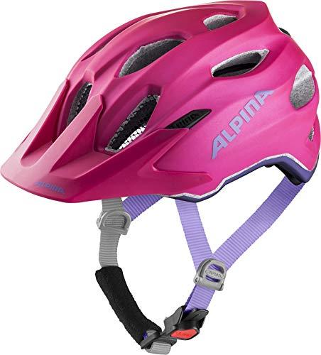 ALPINA CARAPAX JR. FLASH Fahrradhelm, Kinder, deeprose-violet, 51-56