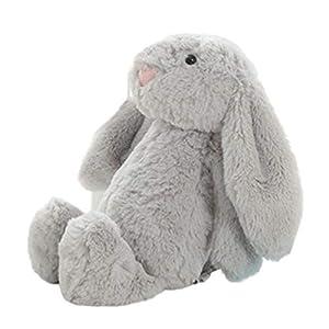 Peluche de juguete de peluche conejo muñeca bebé dormir compañero lindo peluche largo oído conejo muñeca regalo de los niños