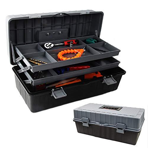 Werkzeugbox Werkzeugkasten,3-Lagen...