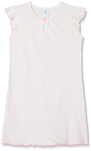 Sanetta Mädchen 232076 Nachthemd, Beige (Broken White 1427), 104