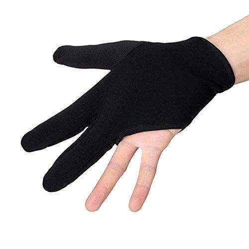 Dxlta Peluquería Peluquería Tres Dedos Guante Resistente Al Calor Dedo Proteja el Cabello Alisado Accesorios de Peinado