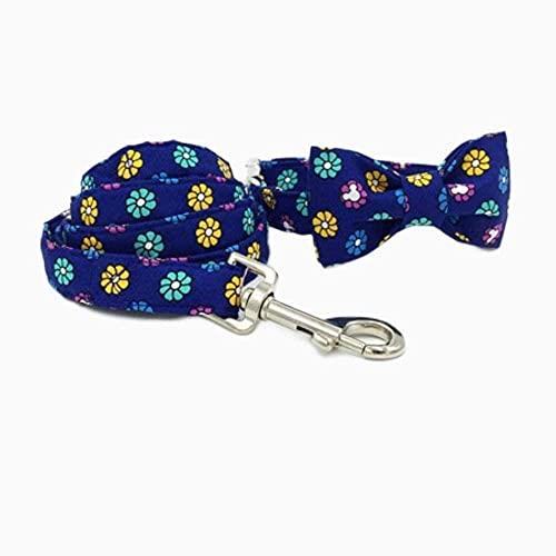 Chaleco de mascotas chaleco de perro arneses collar de perro perro cuello de gato y correa de perro con bowtie 100% algodón personal personalizado perrito perrito diseñador collar de mascotas collar d