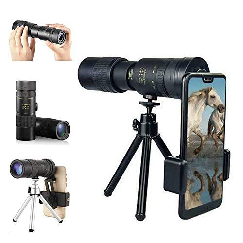 4k 10-300x40mm Super Telephoto Zoom Monokular Teleskope, Wasserdichtes Stoßfestes Hd-teleskop Mit Stativ Und Clip Für Vogelbeobachtung/Camping/Reisen (10-300 * 40mm)