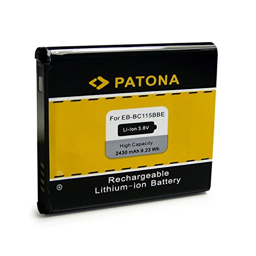 PATONA Bateria EB-BC115BBE Compatible con Samsung Galaxy K Zoom
